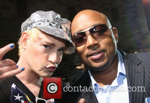 Richie Rich and Daymond John Mercedes-Benz Fashion Week...