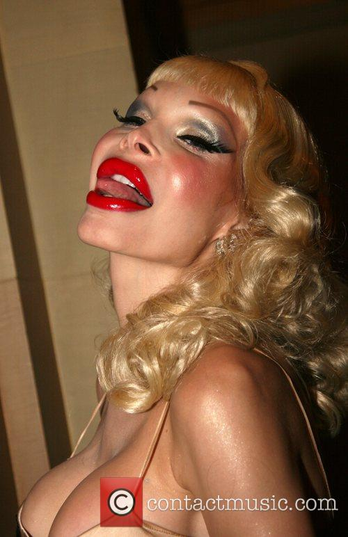 Amanda Lepore Mercedes-Benz Fashion Week New York Spring...