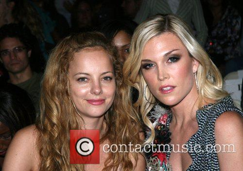 Bijou Phillips and Tinsley Mortimer Mercedes-Benz Fashion Week...