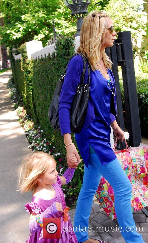Heidi Klum and Her Daughter Leni 2