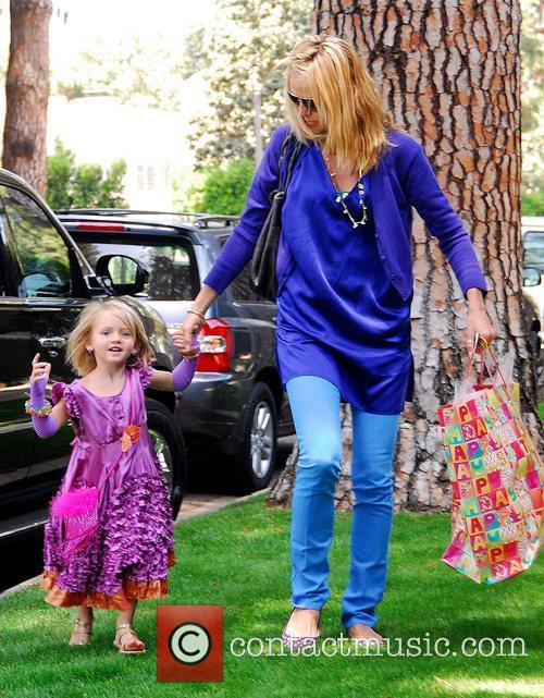 Heidi Klum and Her Daughter Leni 9