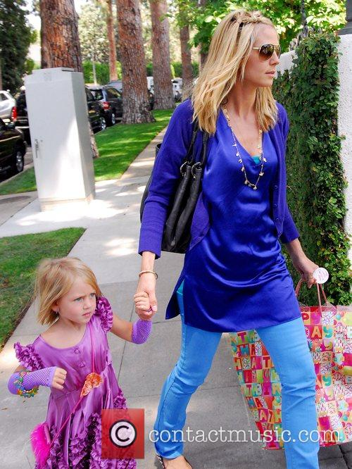 Heidi Klum and Her Daughter Leni 7