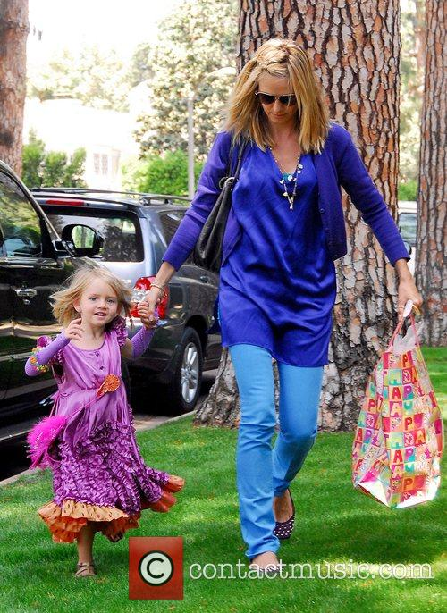 Heidi Klum and Her Daughter Leni 10