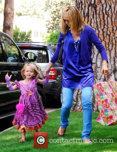 Heidi Klum and Her Daughter Leni 3