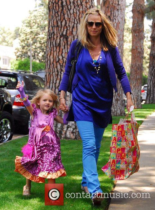 Heidi Klum and Her Daughter Leni 6