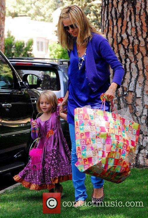 Heidi Klum and Her Daughter Leni 8