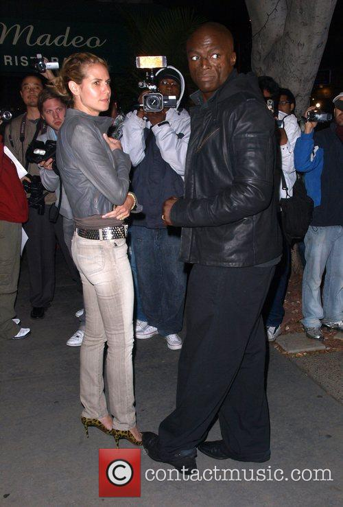 Heidi Klum and Seal 1