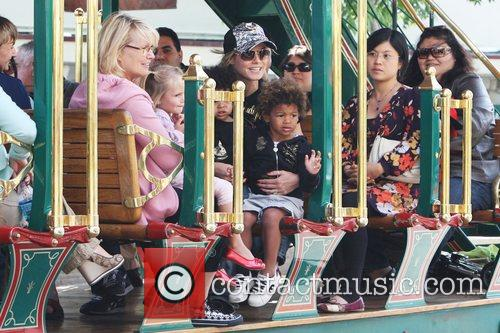 Heidi Klum, family at the Grove and West Hollywood 5