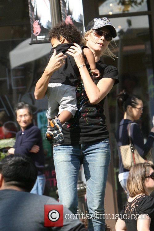 Heidi Klum, family at the Grove and West Hollywood 18