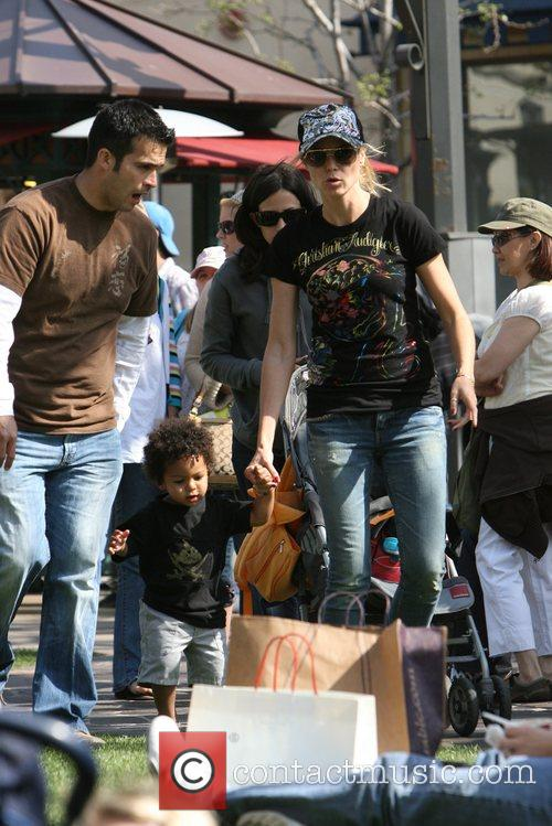 Heidi Klum, family at the Grove and West Hollywood 6