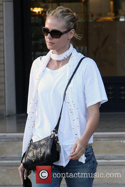 Heidi Klum goes shopping at Barneys New York...