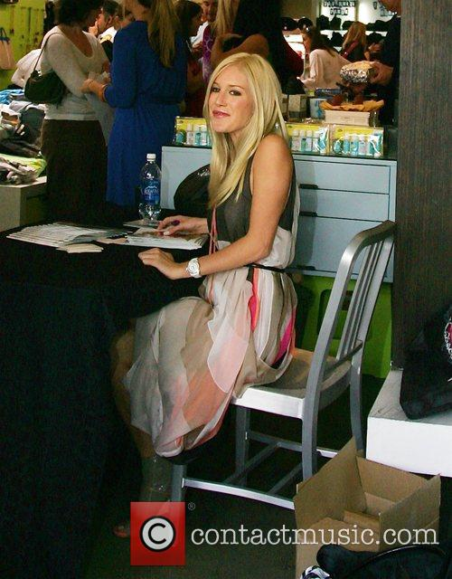 Heidi Montag seen at the launch of her...