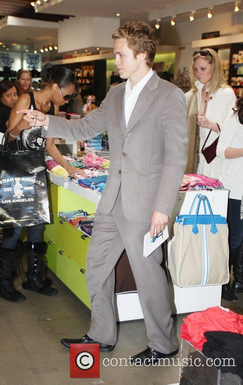 Spencer Pratt at the launch of Heidi Montag's...