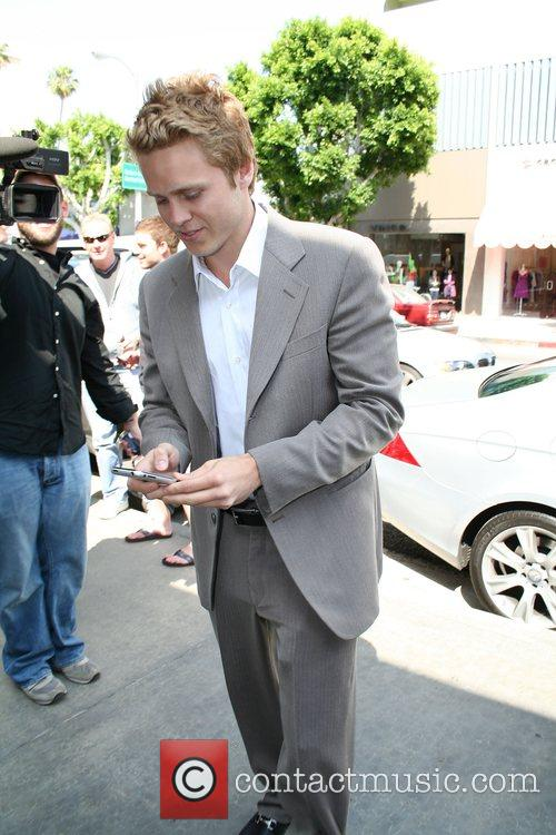 Spencer Pratt at the launch of Heidi Montag's...
