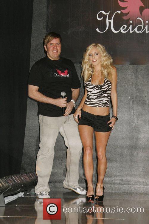 Heidi Montag and Perez Hilton Heidi Montag Premieres...