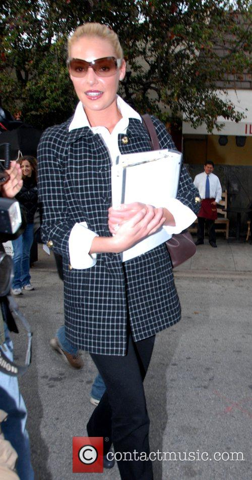 Katherine Heigl  out shopping for furniture with...