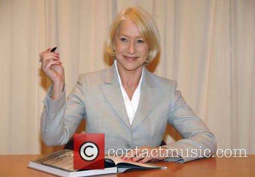 Helen Mirren signs copies of her book 'In...