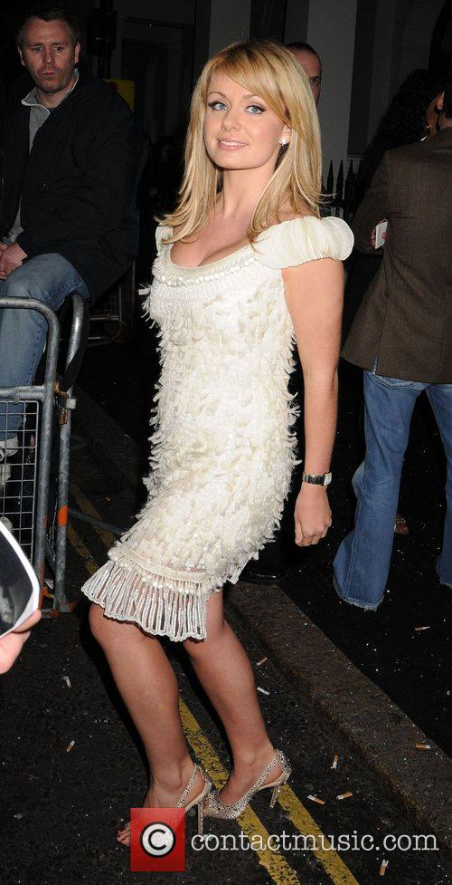 Katherine Jenkins leaving the Universal records afterparty for...