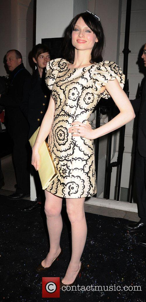 Sophie Ellis-Bextor leaving the Universal records afterparty for...