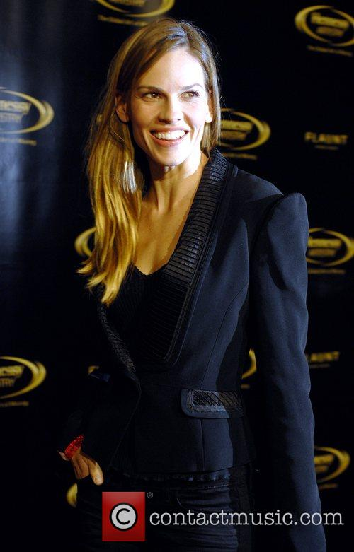 Hilary Swank The 2007 Hennessy Artistry Concert Tour...