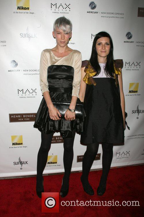 Katie Walsh and Fiamma Poltock Henri Bendel 'Brown...