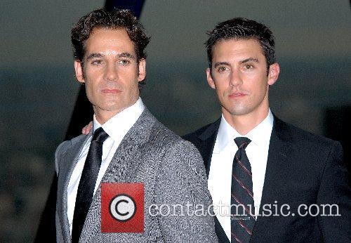 Adrian Pasdar, Milo Ventimiglia Photocall for NBC's Heroes...