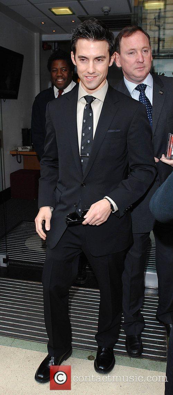 Milo Ventimiglia  star of Heroes leaves Radio...