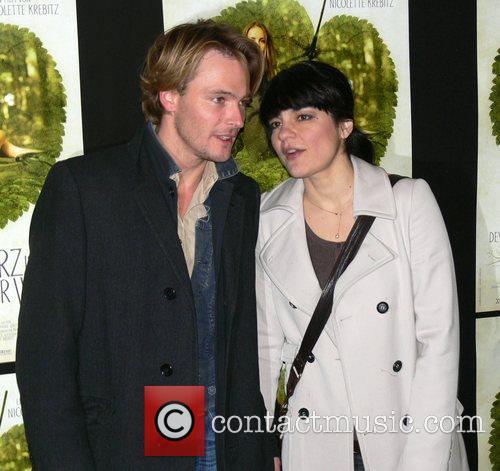 Andreas Pietschmann, Jasmin Tabatabai Premiere of Das Herz...