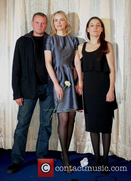 Devid Striesow, Nina Hoss and Nicolette Krebitz