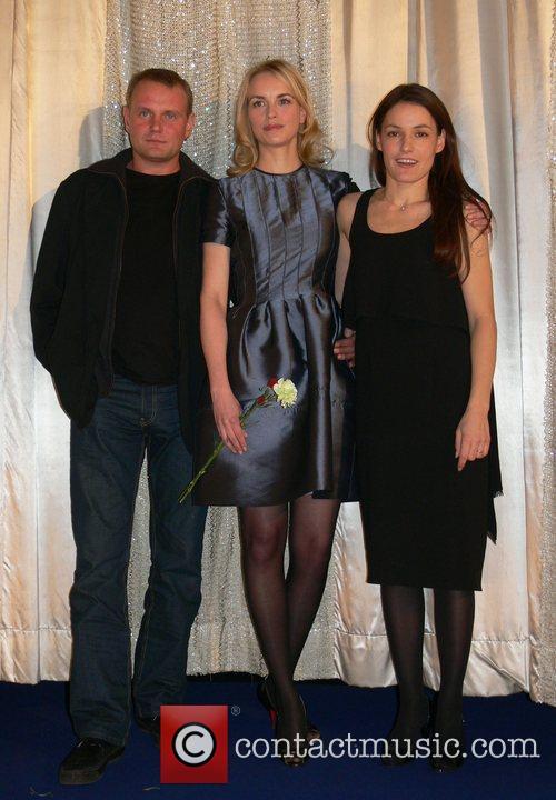 Devid Striesow, Nina Hoss, Nicolette Krebitz Aftershow-party for...