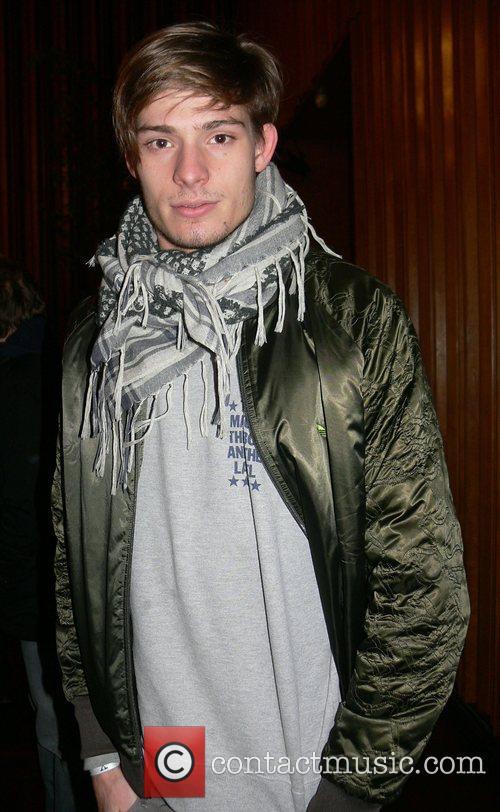 German model Julian Feitsma Premiere of Das Herz...