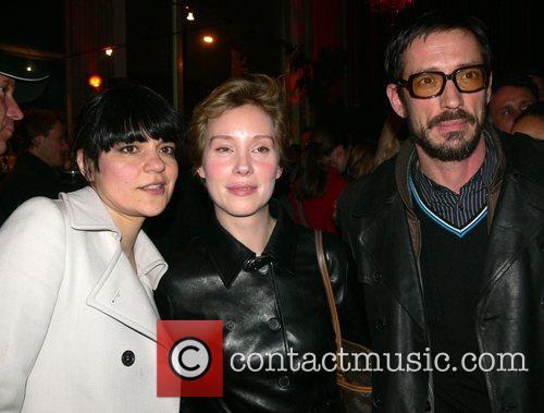 Jasmin Tabatabai, Franziska Petri, Oskar Roehler Aftershow-party for...