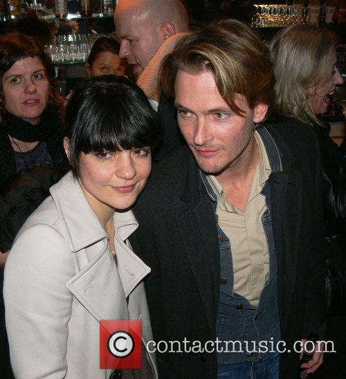 Jasmin Tabatabai, Andreas Pietschmann Aftershow-party for the premiere...