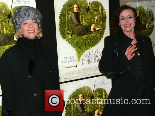 Katja Riemann, Maria Schrader Premiere of Das Herz...