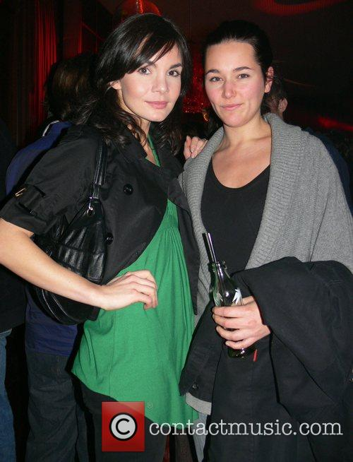 Nadine Warmuth, Alissa Jung Aftershow-party for the premiere...