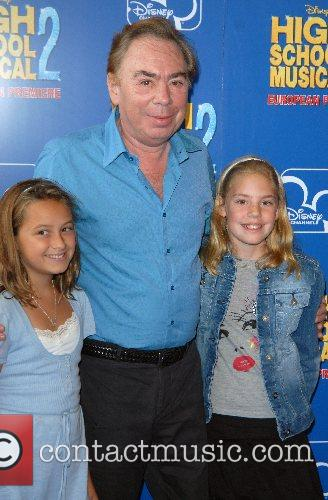 Andrew Lloyd Webber and family High School Musical...