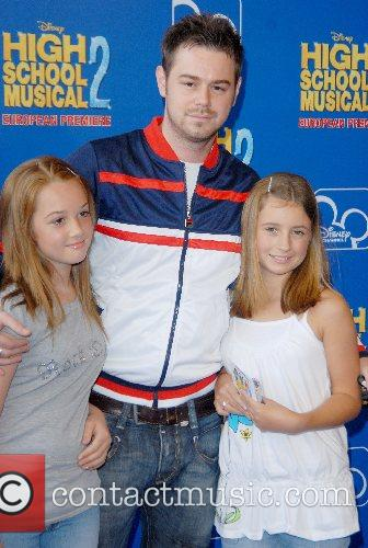 Danny Dyer and family High School Musical 2...