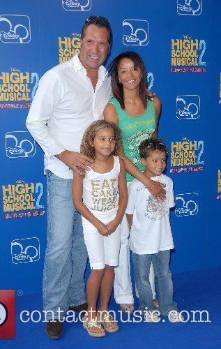 David Seamon and family High School Musical 2...