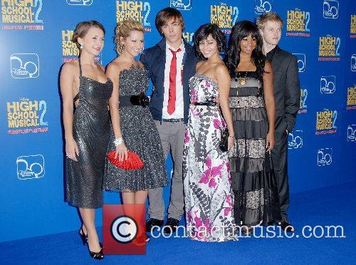 Zac Efron, Vanessa Hudgens,Ashley Tisdale and Monique Coleman...