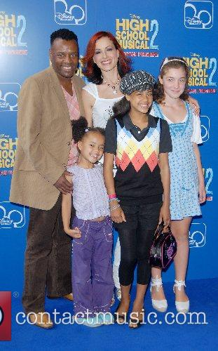 Carrie David Grant and family High School Musical...
