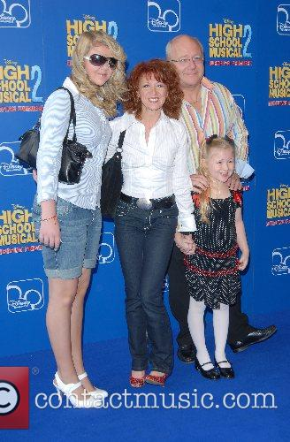 Bonnie Langford and family High School Musical 2...