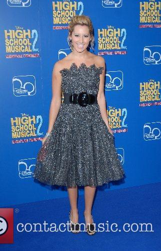 Ashley Tisdayle High School Musical 2 - premiere...