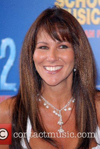 Linda Lusardi High School Musical 2 - premiere...