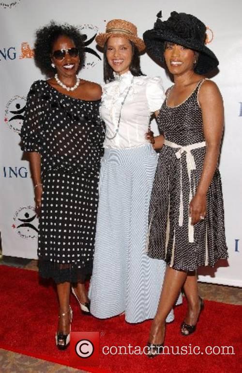 Pauletta Washington, Victoria Rowell and Angela Bassett High...