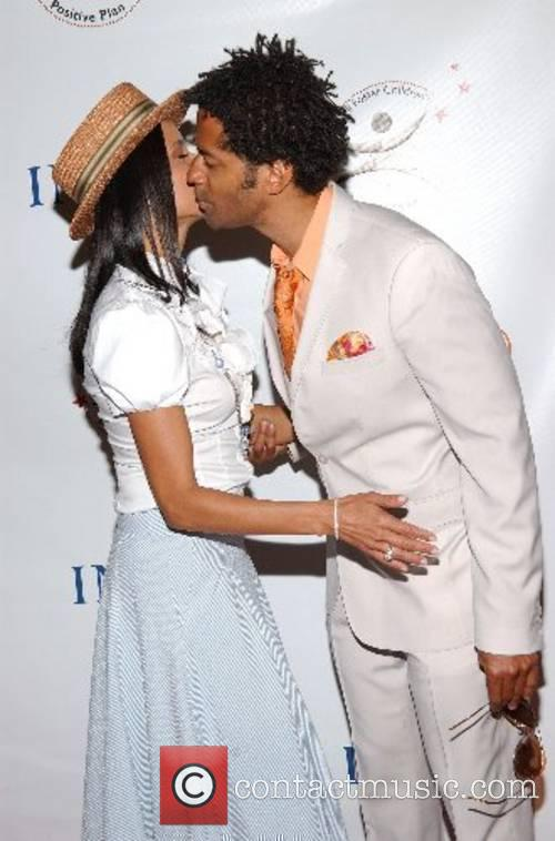 Victoria Rowell and Eric Benett High Tea At...