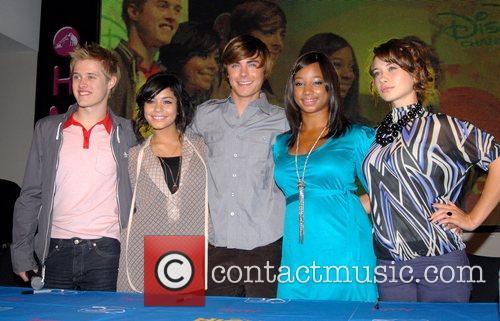 High School Musical, Monique Coleman and Zac Efron
