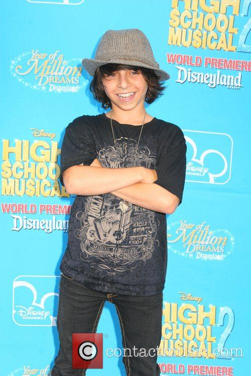 Moises Arias Disney's 'High School Musical 2' World...