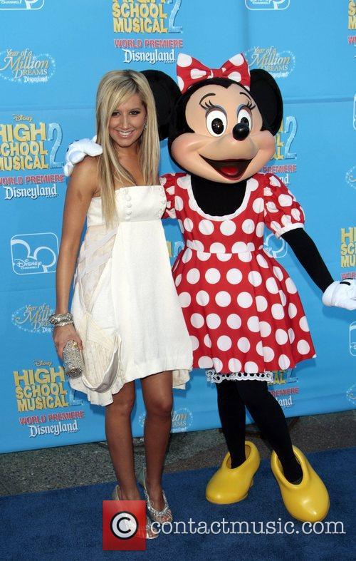 Ashley Tisdale Disney's 'High School Musical 2' World...