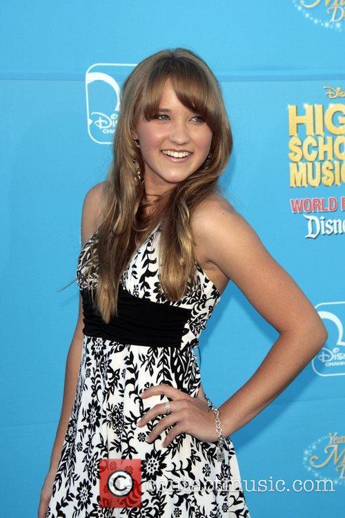 Emily Osment Disney's 'High School Musical 2' World...