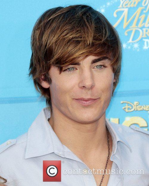 Zac Efron Disney's 'High School Musical 2' World...